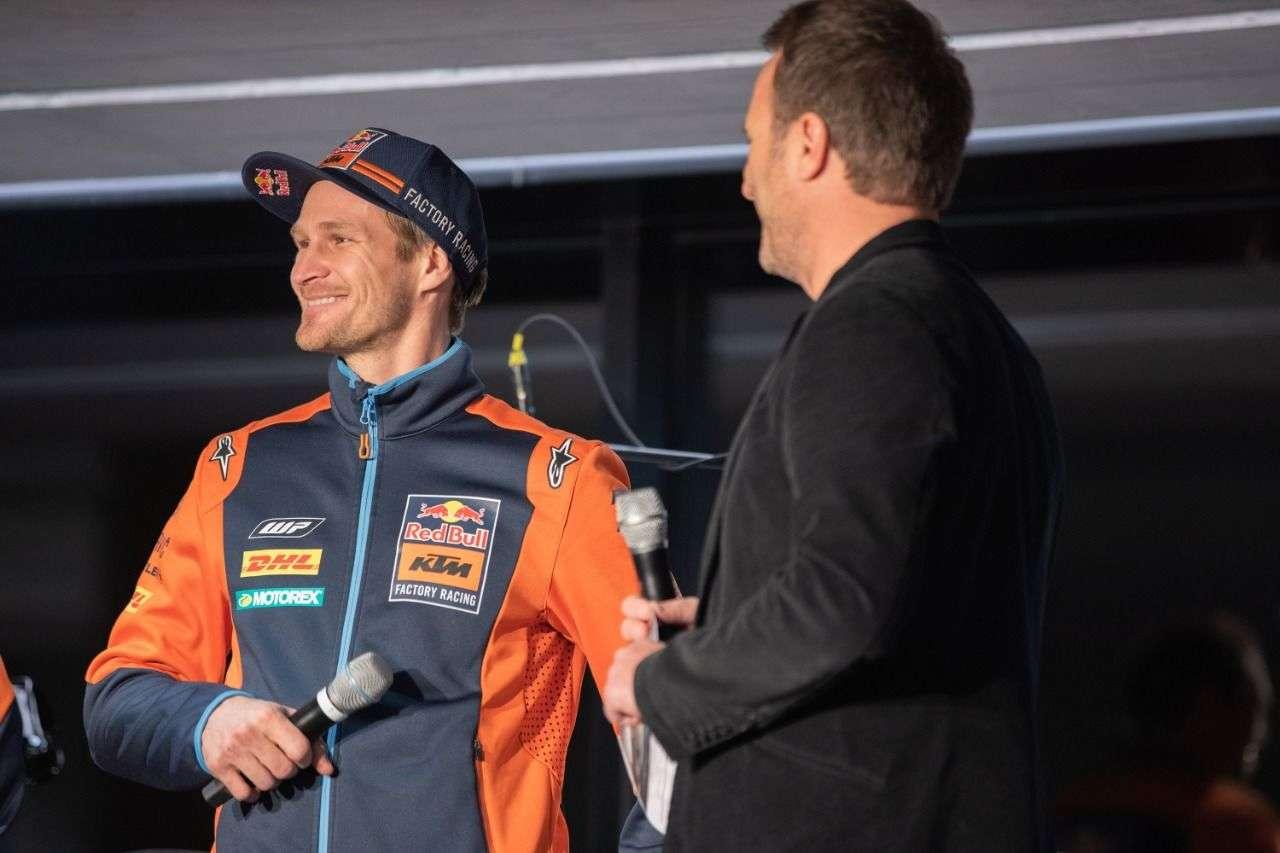 ...der fünffache Erzberg-Sieger Taddy Blazusiak gaben sich die Ehre.