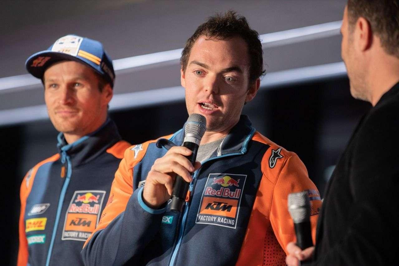Auch Dakar-Sieger Matthias Walkner und...