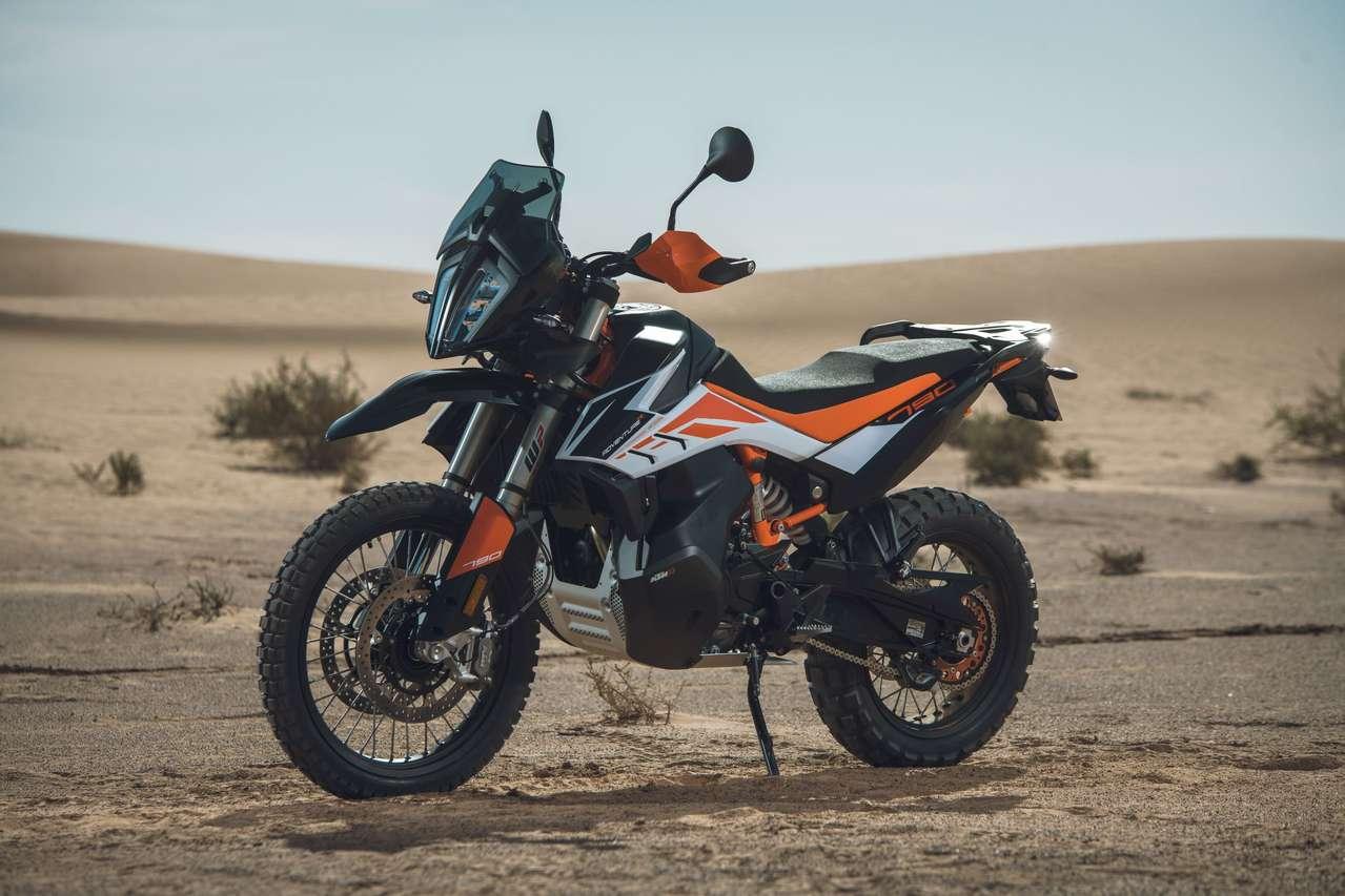 KTM 790 Adventure R: Inspiriert vom Dakar-Rallyebike.