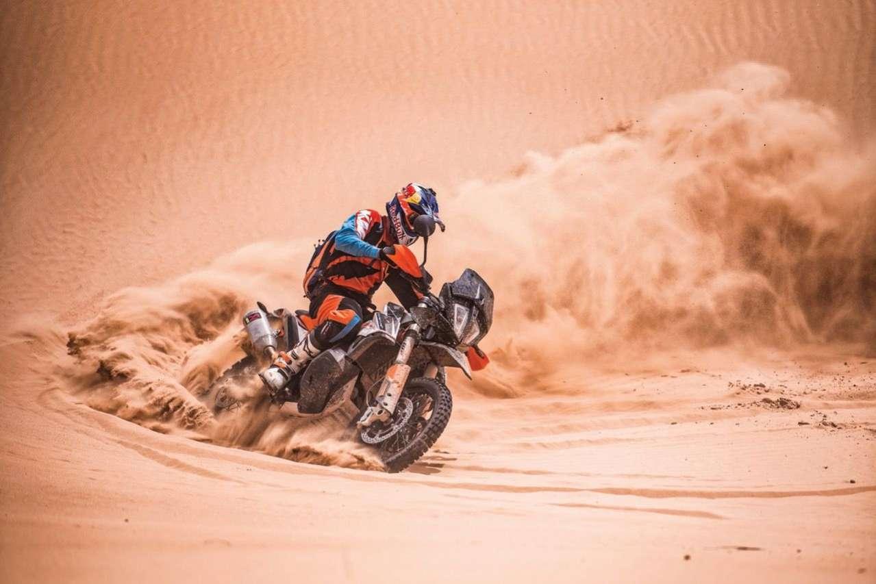 ... Sandspielen mit der 790 Adventure R.