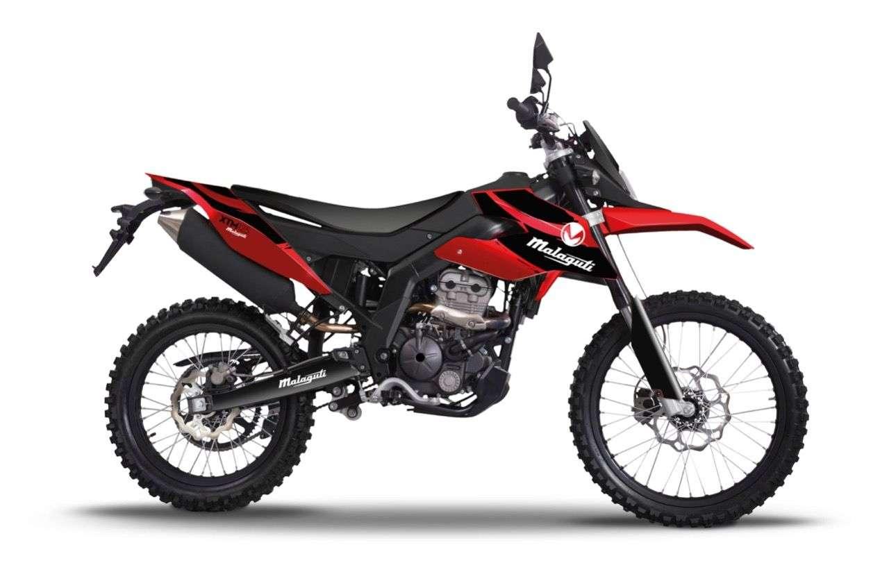 Malaguti XTM 125: Abwandlung als Enduro, ebenfalls mit 15 PS um 2990 Euro.