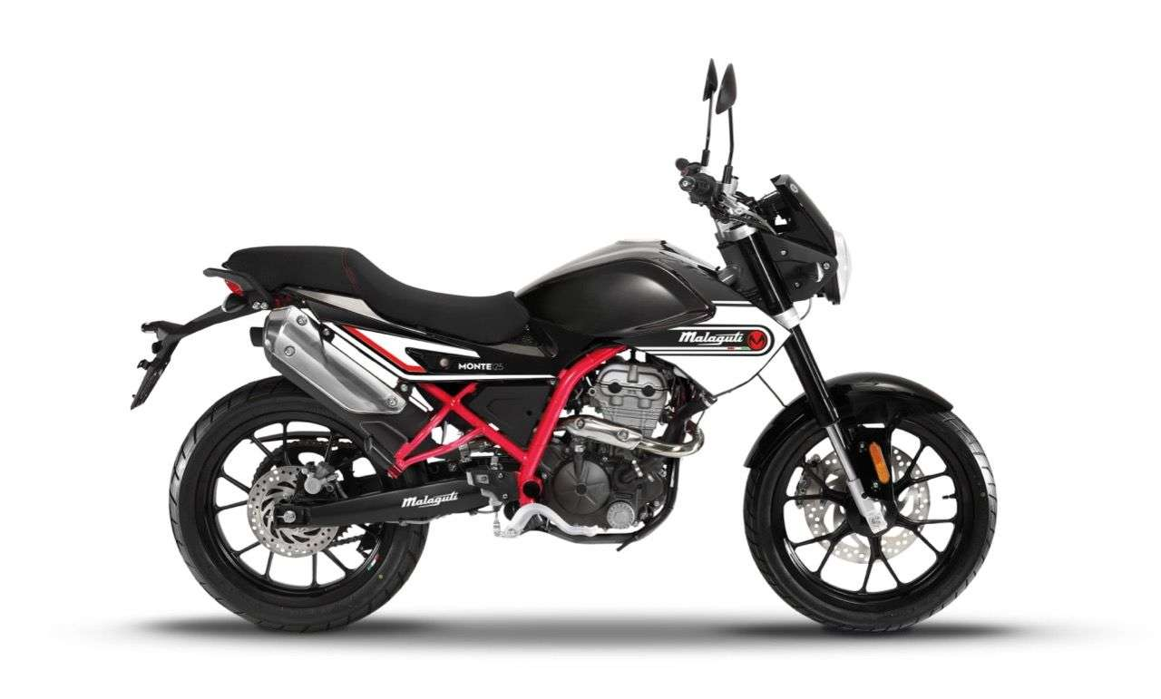 Malaguti Montepro 125: Naked Bike mit 15 PS: