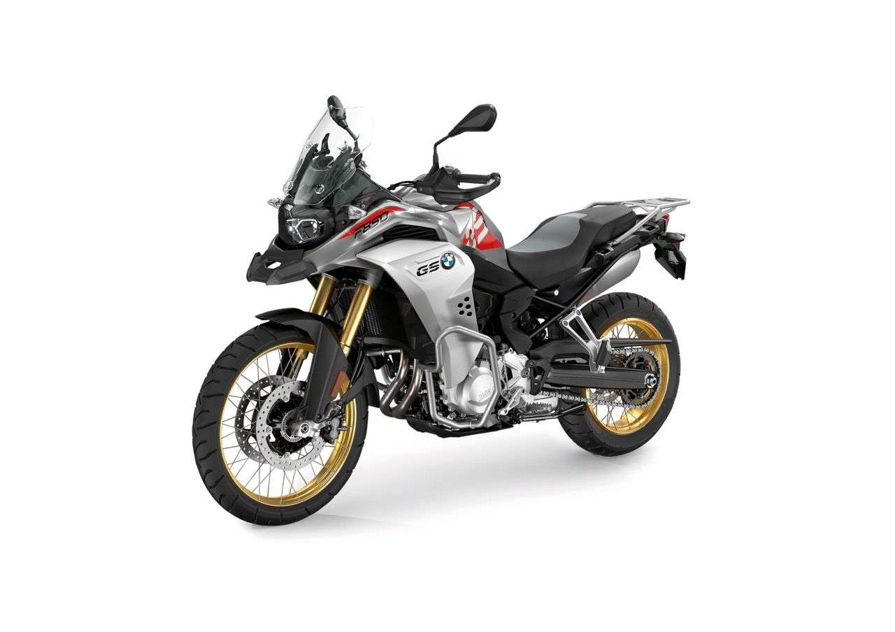 Die BMW F 850 GS Adventure im eleganten Style Exclusive in Granitgrau Metallic.