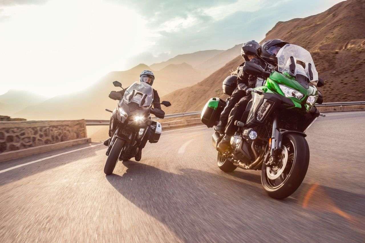 Kawasaki Versys 1000/Versys 1000 SE: Mehr Elektronik, mehr Funktionen, mehr Komfort.