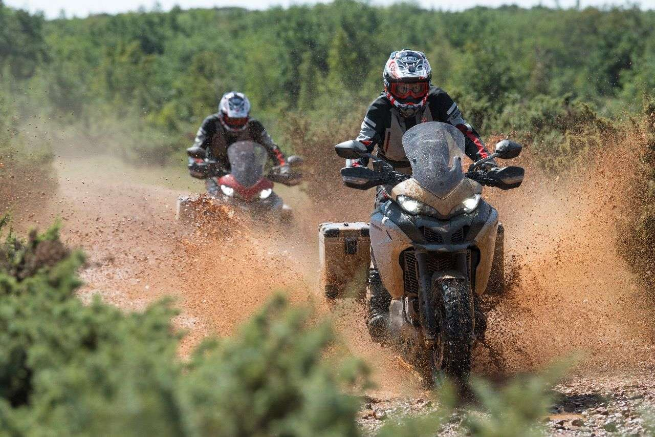 Ducati Multistrada 1260 Enduro: Optisch keine Änderungen, aber mit vielen technischen Updates.