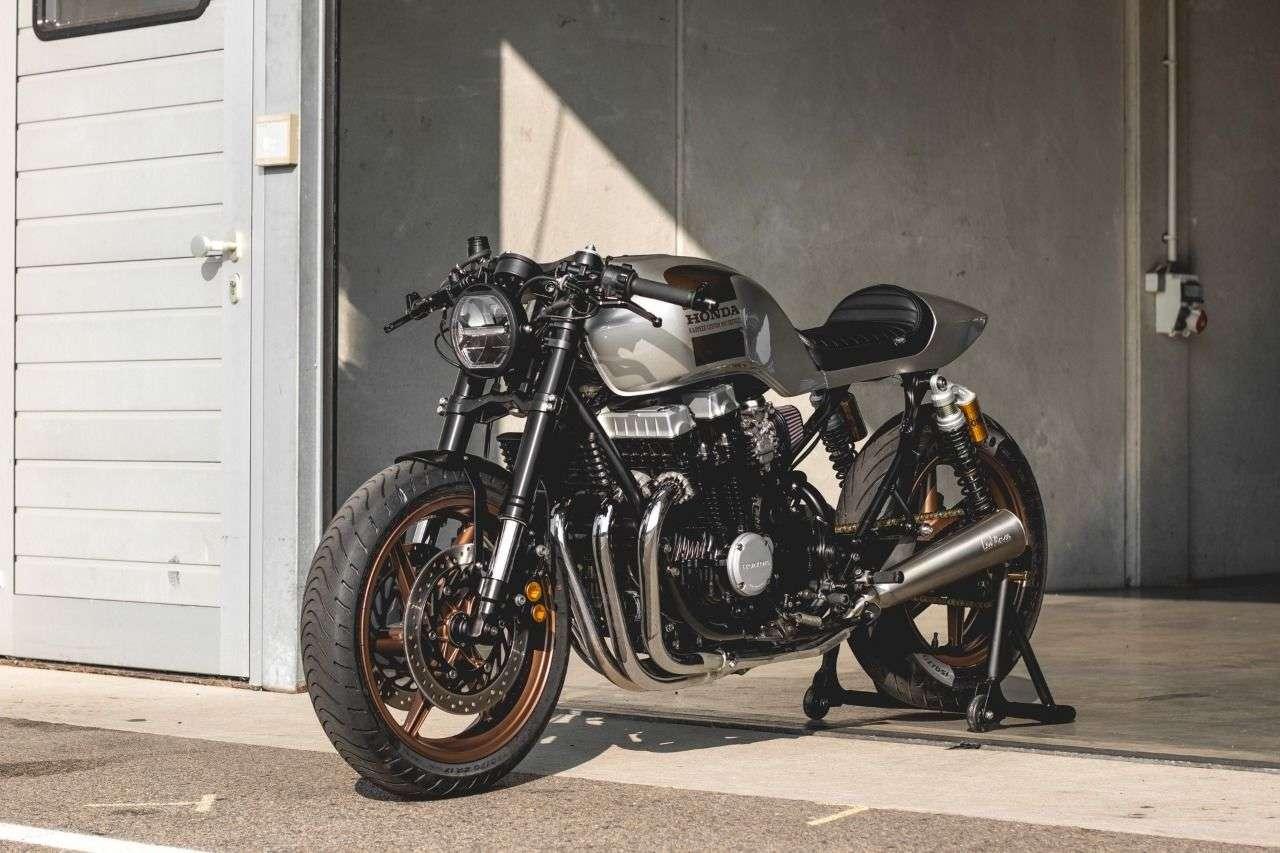 Die Honda CB750 von Kaspeed könnte schon bald in deiner Garage stehen.