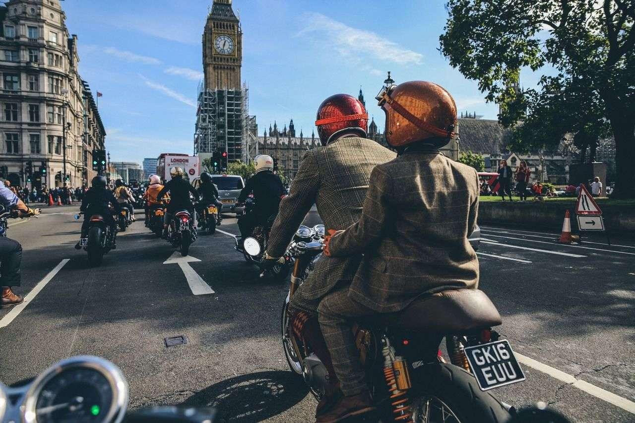 Der Gentleman's Ride findet in über 650 Städten weltweit statt.