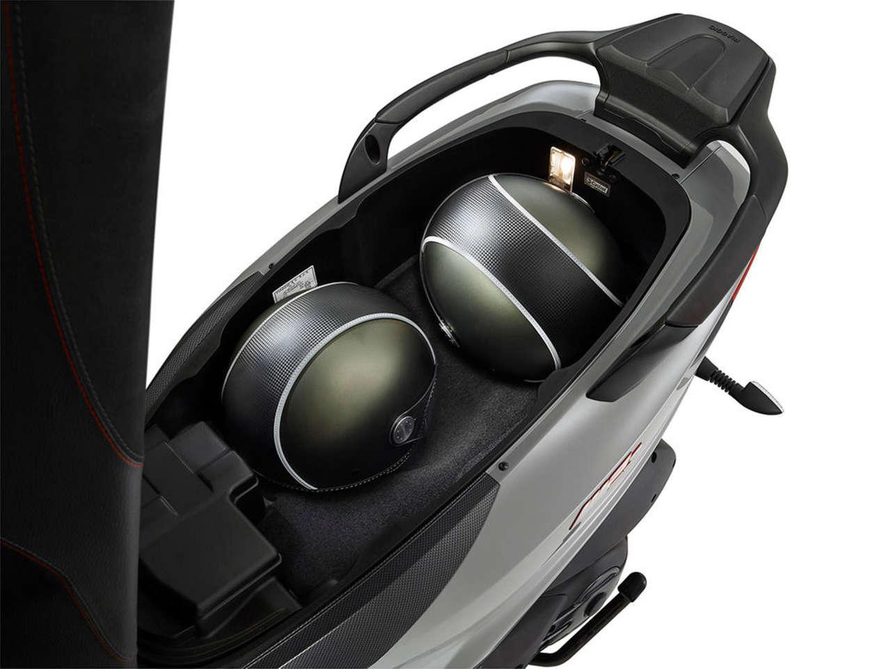 MP3 500 Stauraum