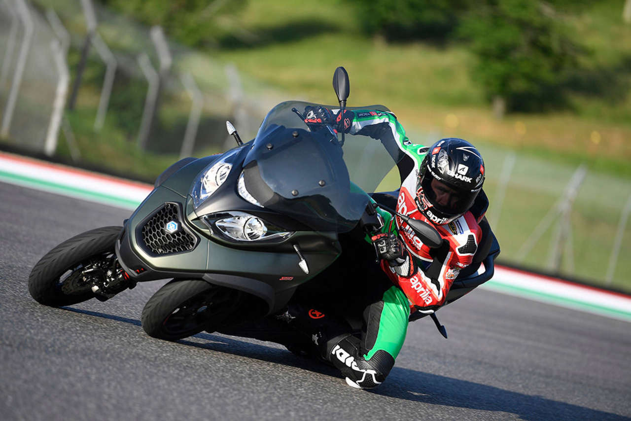 MP3 350 mit Scott Redding