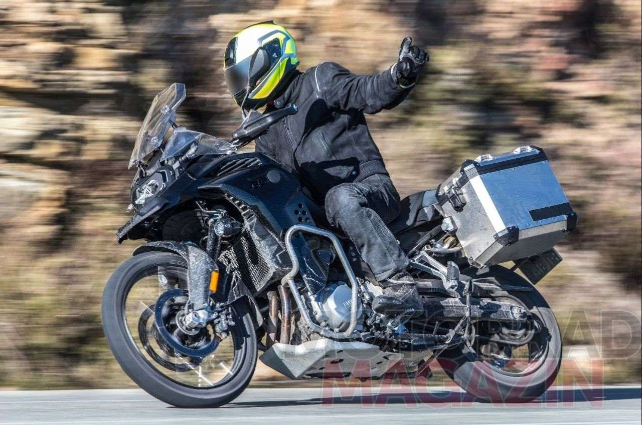 BMW F 850 GS Adventure 2019 Erlkönig – Foto © bmh-images