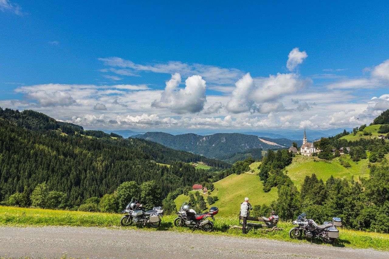 Ein Wochenendausflug rund um die Saualm in Kärnten –Foto und Track von Alexander Seger