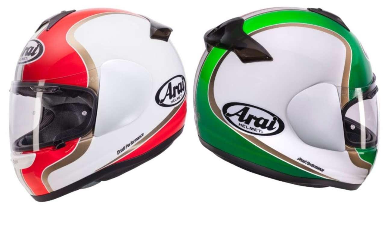 Axces II Dual ITA: Wenn dein Herz für italienische Motorräder schlägt, kannst du die italienischen Farben am Helm tragen.
