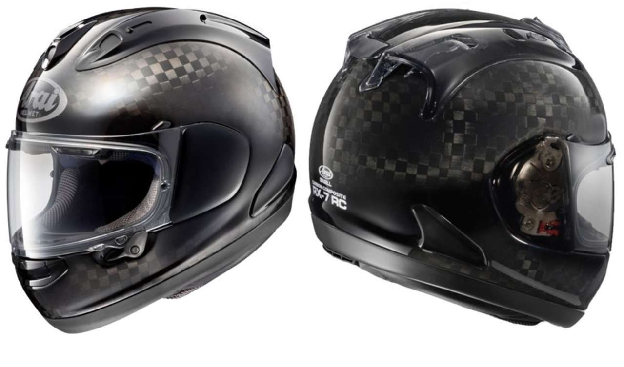 Arai RX-7V RC: Der letzte Helm, den man sie je kaufen wird, weil man dann kein Geld mehr hat. Teurer geht nicht.