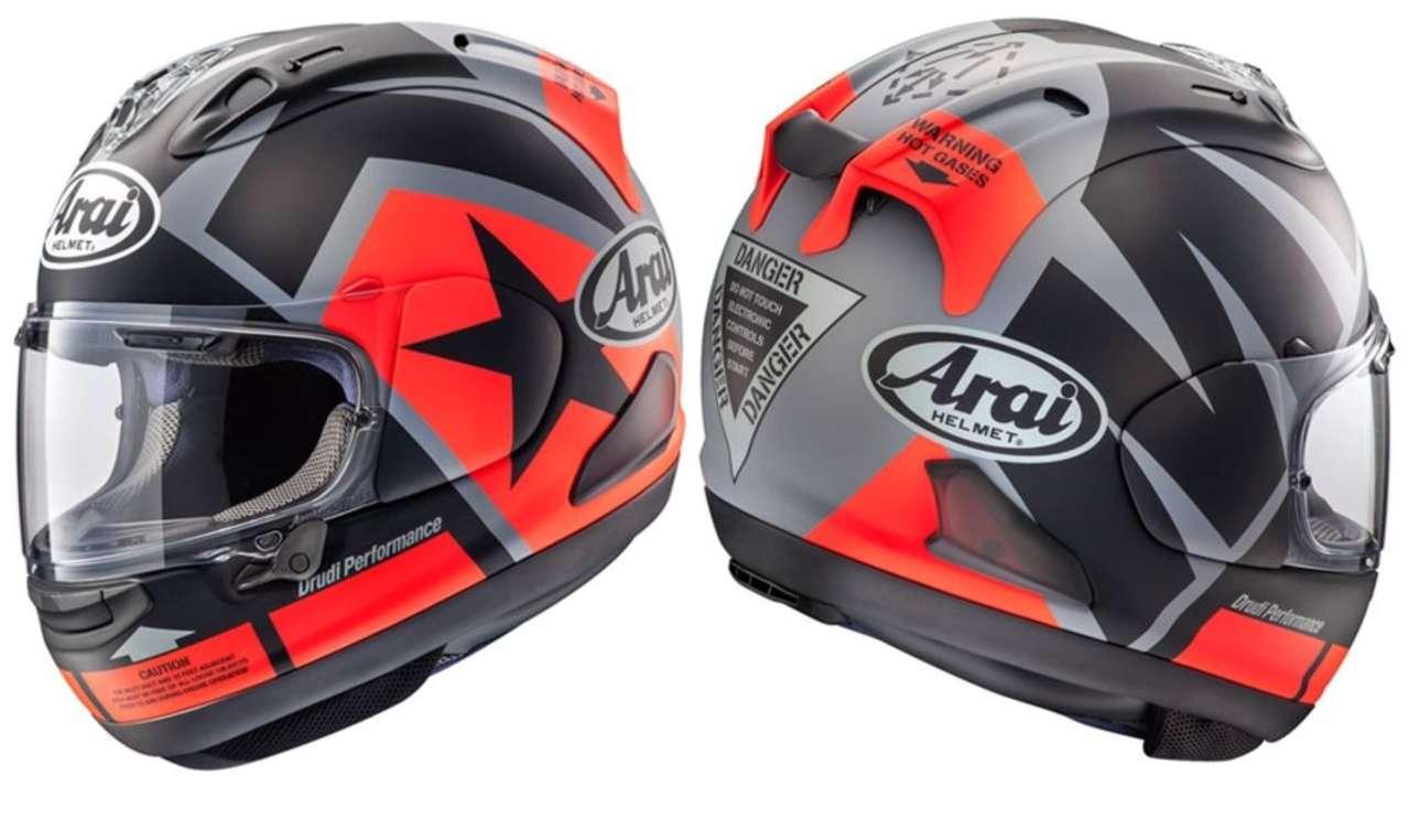 Arai RX-7V Maverick: Wir möchten auch gerne Maverick heißen, aber dazu müssen wir in die MotoGP oder zu Top Gun.