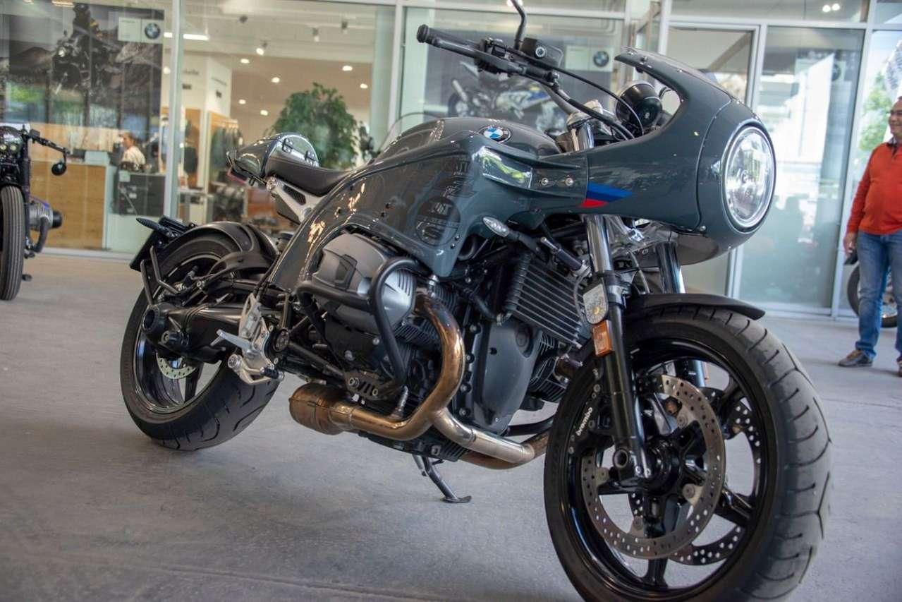 """""""Mad Max"""" BMW von Roland Schreiner. Basis war eine R nineT Pure."""