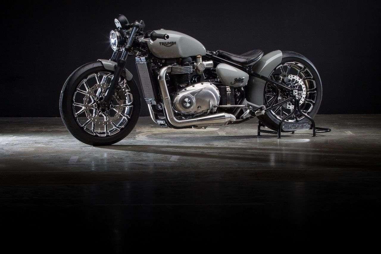 Triumph Bonneville Bobber by Krugger Motorcycles