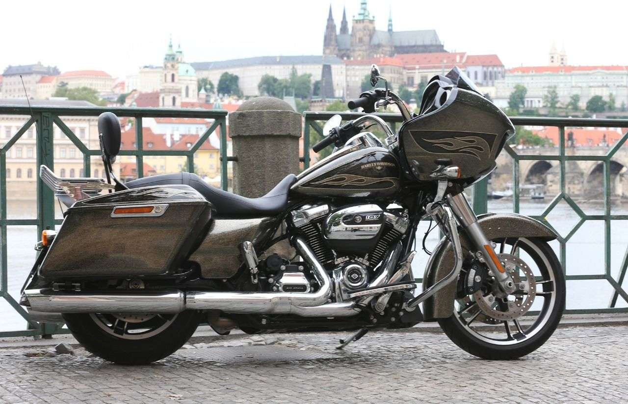 Prag als Drehort für Harleys große internationale 115-Jahr-Feier. Foto: HRF/Horst Rösler
