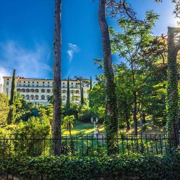 Top-Adresse in Crikvenica: Das Hotel Karner Palace unter österreichischer Führung.