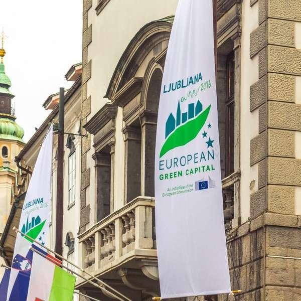 Die Reise beginnt in Laibach, der slowenischen Hauptstadt.