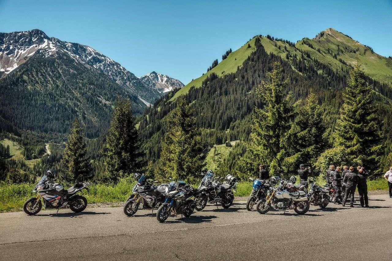 Keine Motorräder mehr im Namlos-Tal? Die Online-Petition der IGMoto setzt sich zur Wehr! Foto © Jürgen Skarwan
