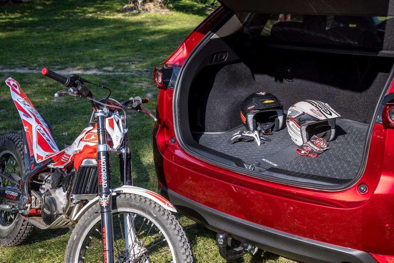 Feiner Kofferraum mit über 500 Liter Inhalt und einfacher Erweiterung: So soll's sein!