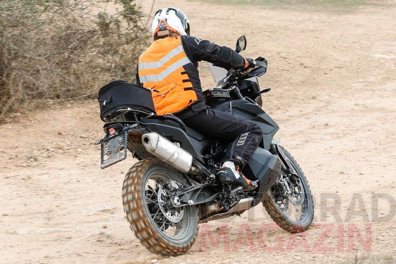KTM 790 Adventure Erprobungsbike