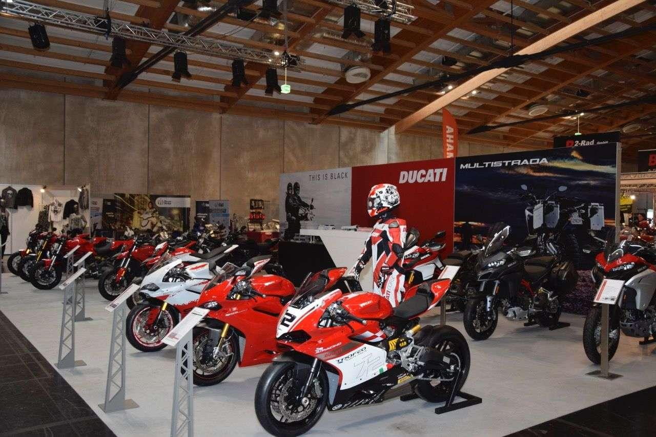 ... spektakuläre News bei Ducati genauso wie ...