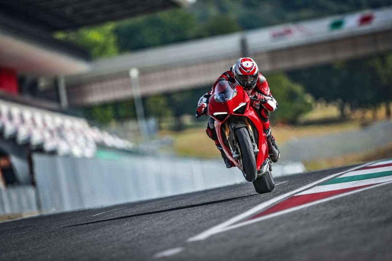 MotoGP-Technik für die Straße: Ducati Panigale V4.