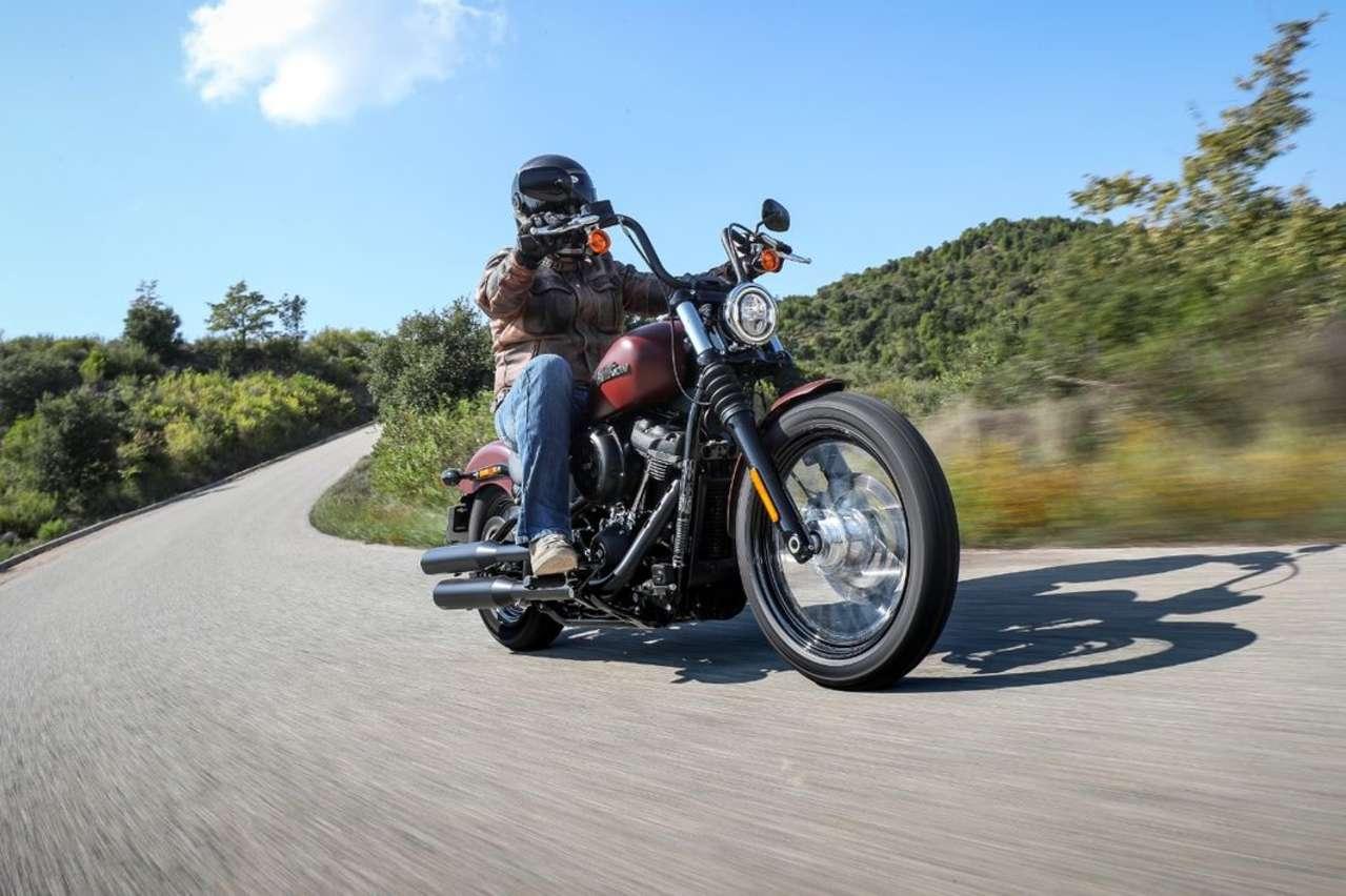 Einstieg in die Big-Twin-Klasse von Harley-Davidson: Street Bob 2018.