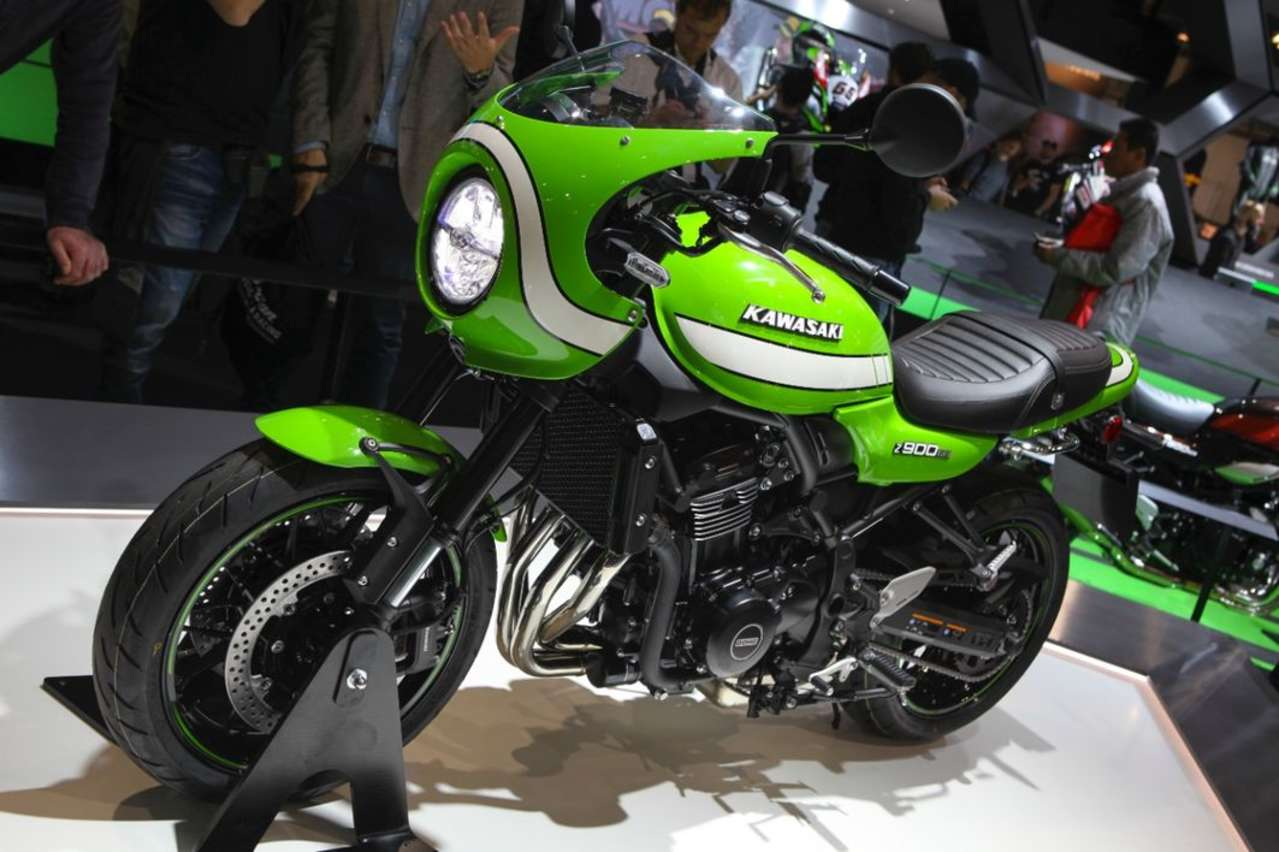 Kawasaki Z900RS Café: Moderne Technik und ein Design wie aus den Siebzigern.