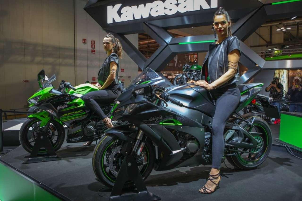Kawasaki ZX-10R SE: Edelversion des Superbikes mit elektronischem Fahrwerk.
