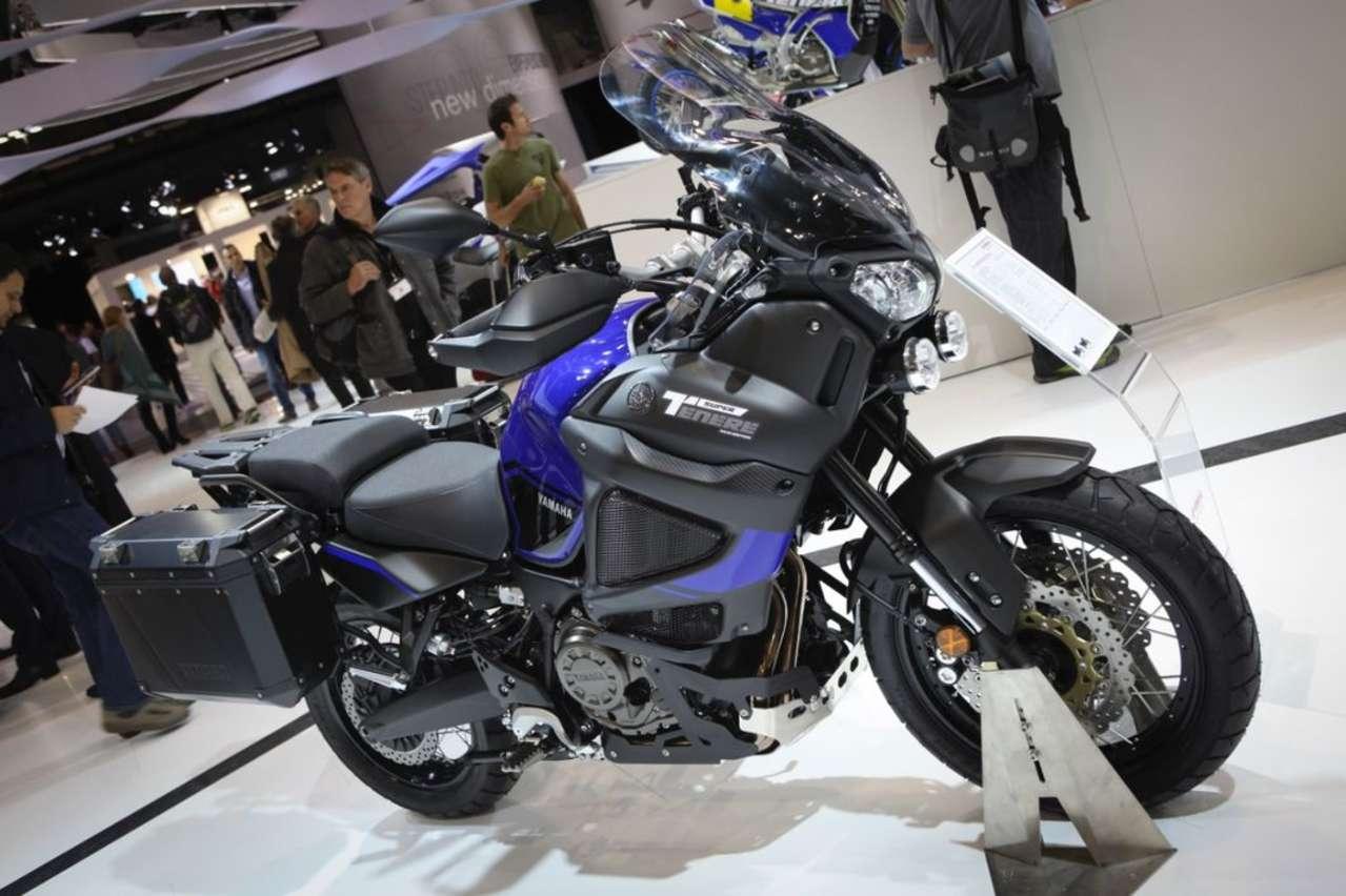 Yamaha Super Ténéré World Edition: Mit viel Zubehör in Serienausstattung und neuen Alu-Koffern.