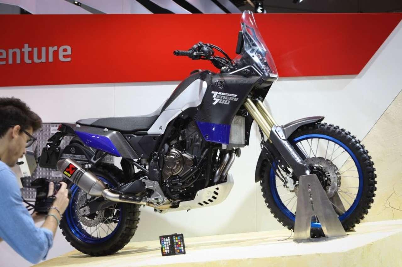 Yamaha Ténéré 700: Noch ein Konzeptbike, Marktstart 2019.