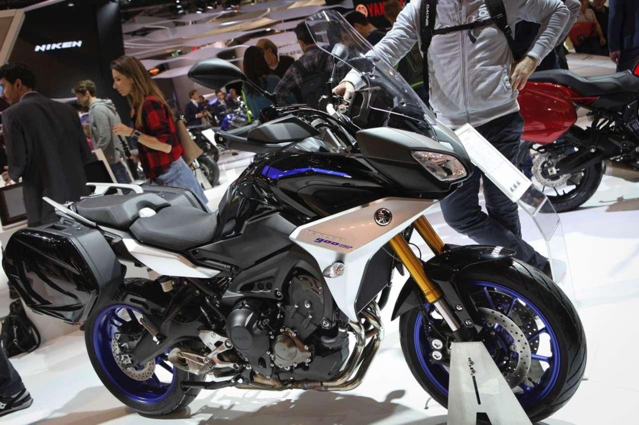 Yamaha Tracer 900: Edle Variante mit vielen Upgrades – kommt aber erst Mitte 2018.
