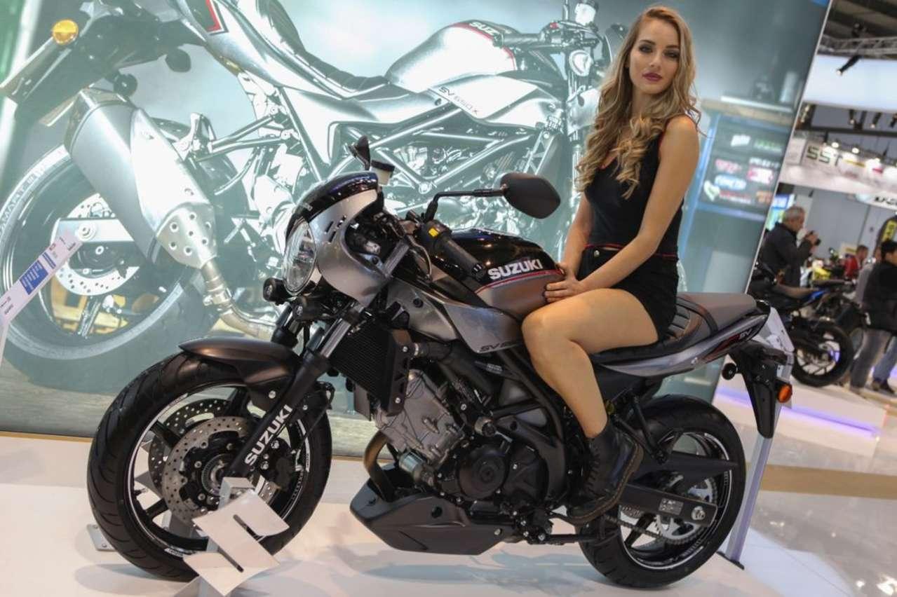 Suzuki SV650X: Suzuki sammelt Kräfte und spart heuer bei News. Immerhin gibt's diese Vintage-Version des hochgelobten V2-Naked-Bikes.