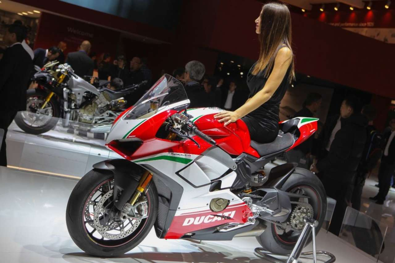 "Ducati Panigale V4, hier in der ultimativen Version ""Speciale"". Das Superbike mit MotoGP-Motor bringt's auf 214 PS."