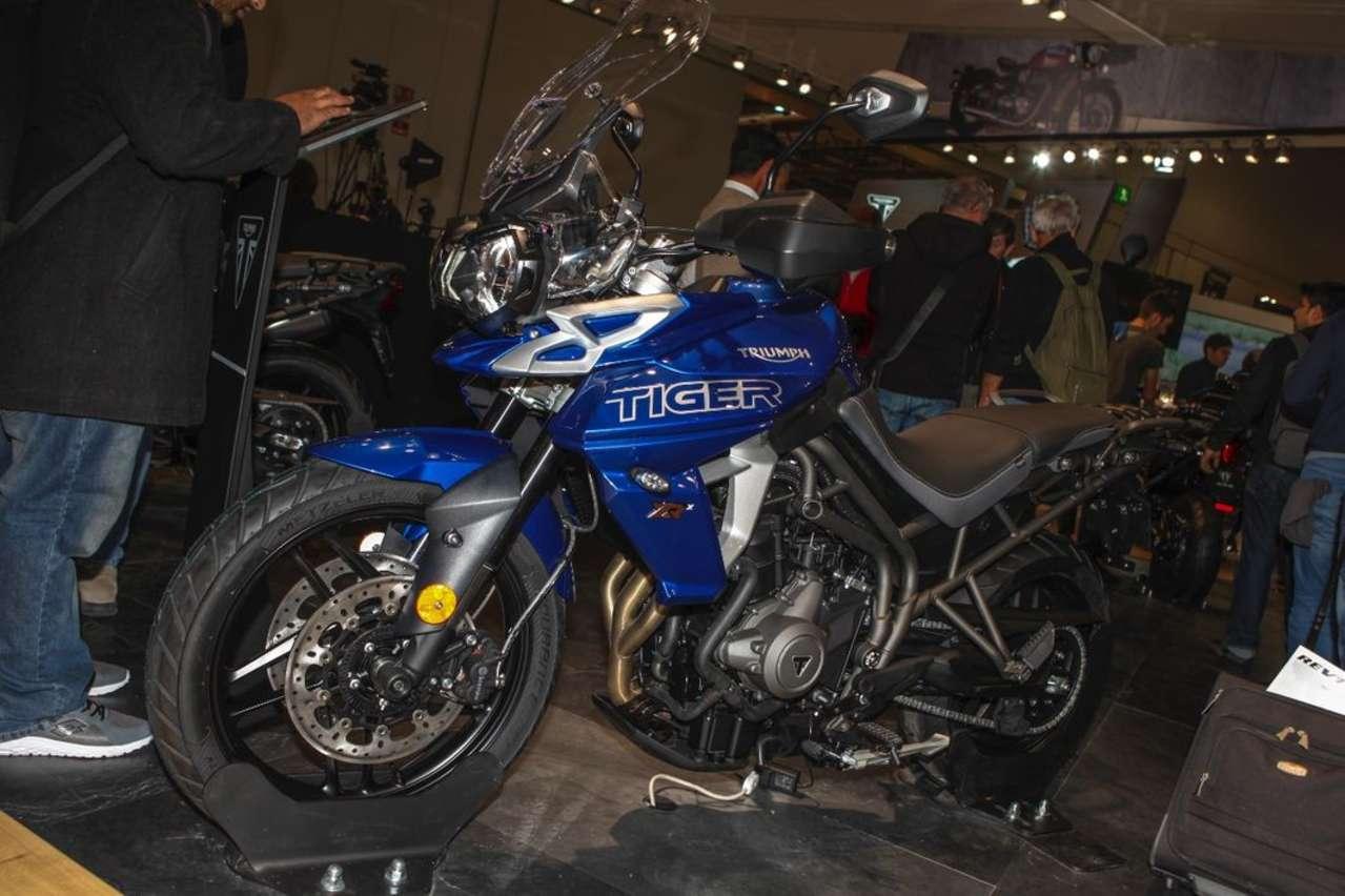 Triumph Tiger 800: Neuer Look, mehr Assistenz- und Komfortsysteme für das 95-PS-Bike.