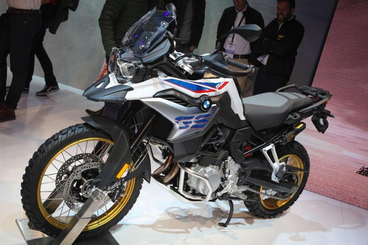 BMW F 850 GS: Neuer Motor, mehr Leistung (95 PS), dazu mehr Hightech-Features, die meisten allerdings aufpreispflichtig.