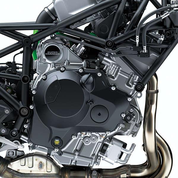 Überarbeiteter Motor