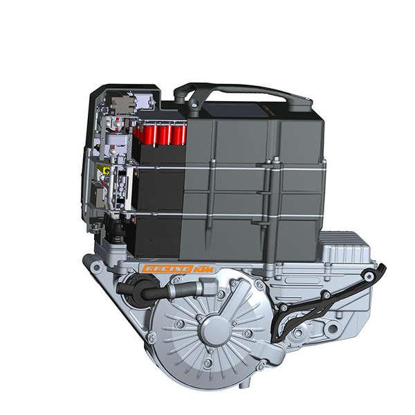 Neuer Akku und Motor