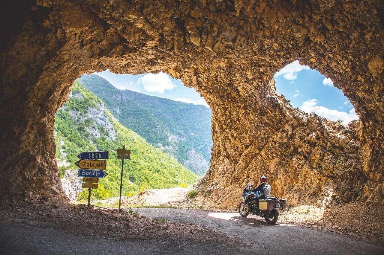 Montenegro, Anfahrt zum Durmitor-Nationalpark.