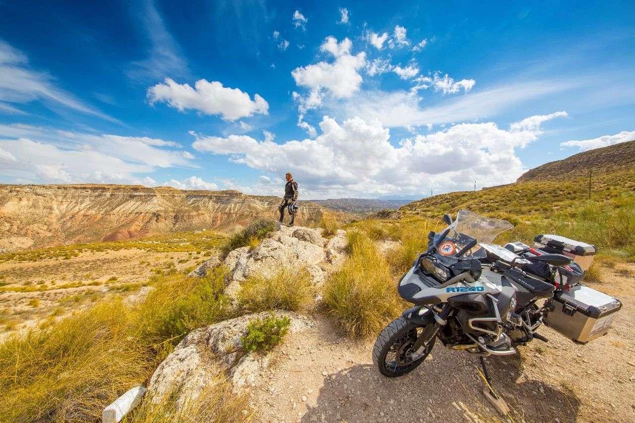 Spanien, genauer gesagt: Andalusien: Wüstenlandschaft bei Guadix.