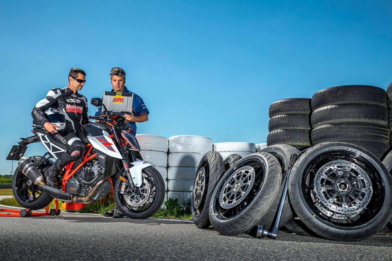 Motorradmagazin-Reifentest 2017 – alle Fotos © Kurt Pinter