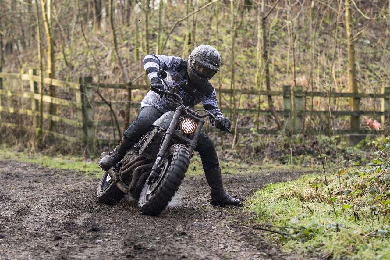 "... ein erdverliebter Scrambler namens ""The Soil Champion""."