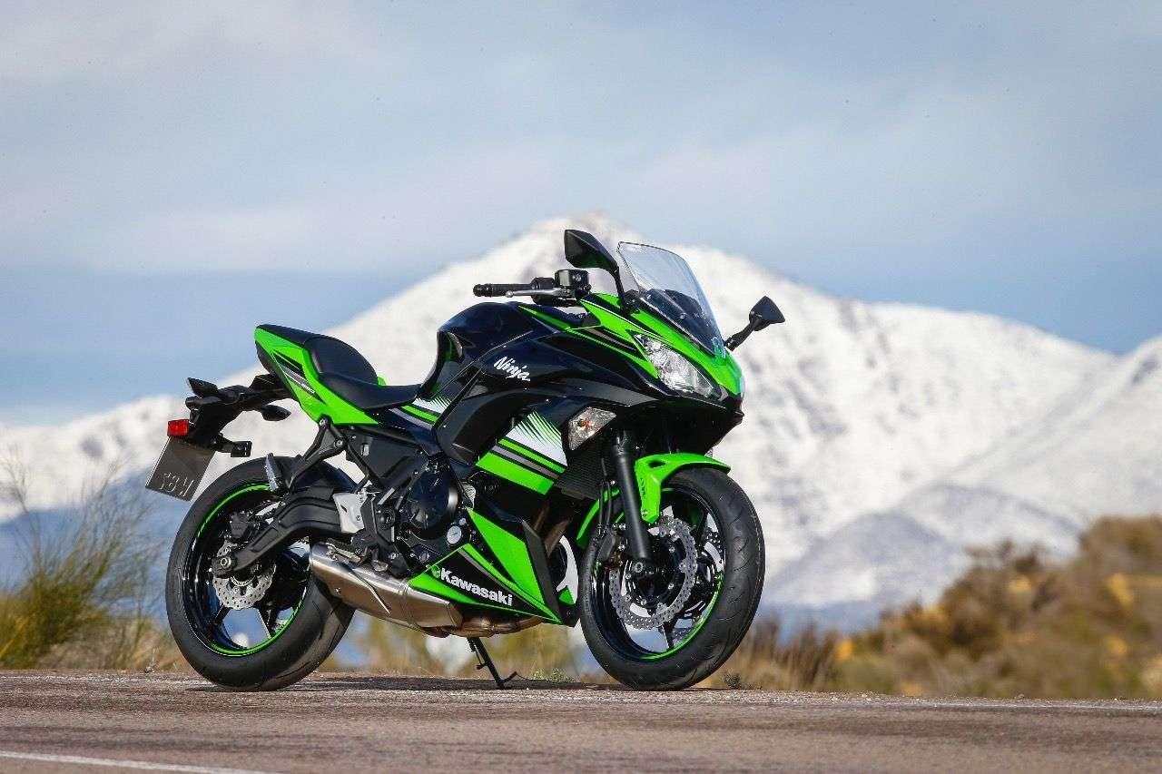 Kawasaki Ninja 650: Sportlich-scharfes Design, wie man sich's bei diesem Namen erwartet.