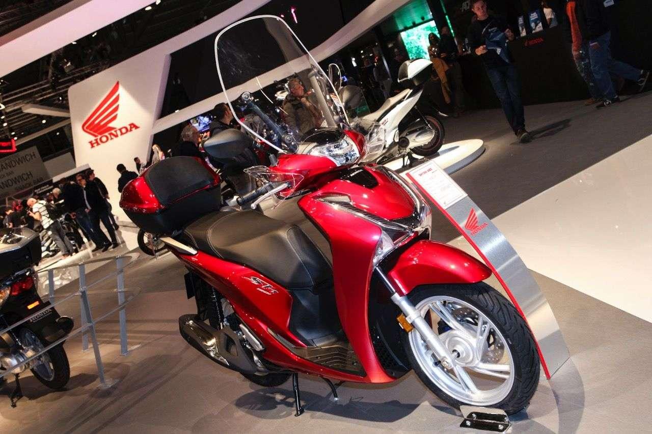Honda SH125i.
