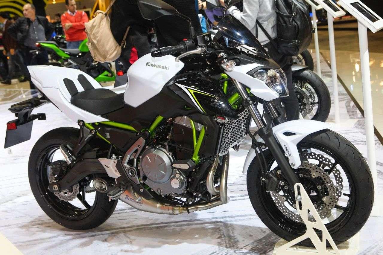 Kawasaki Z650.