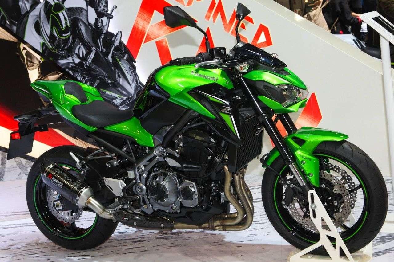 Kawasaki Z900.