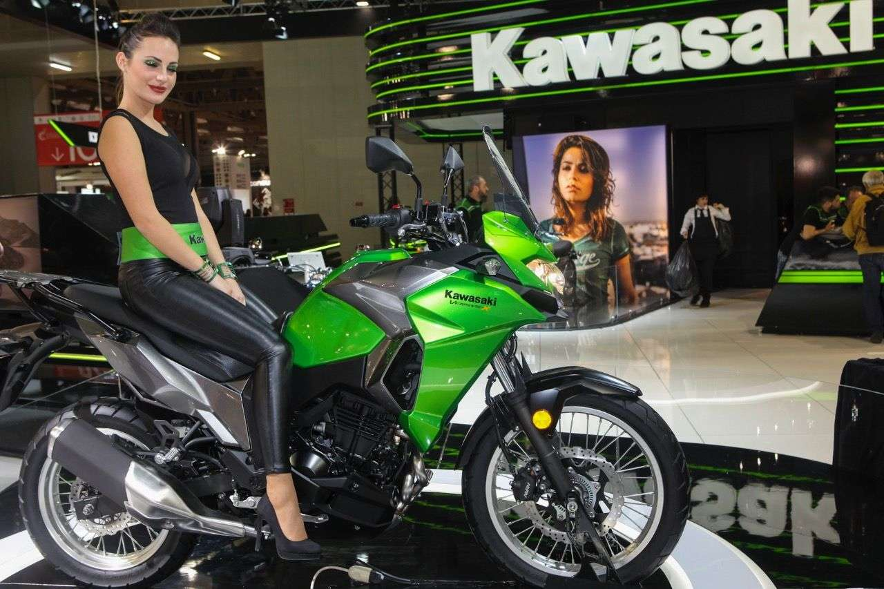 Kawasaki Versys-X 300.