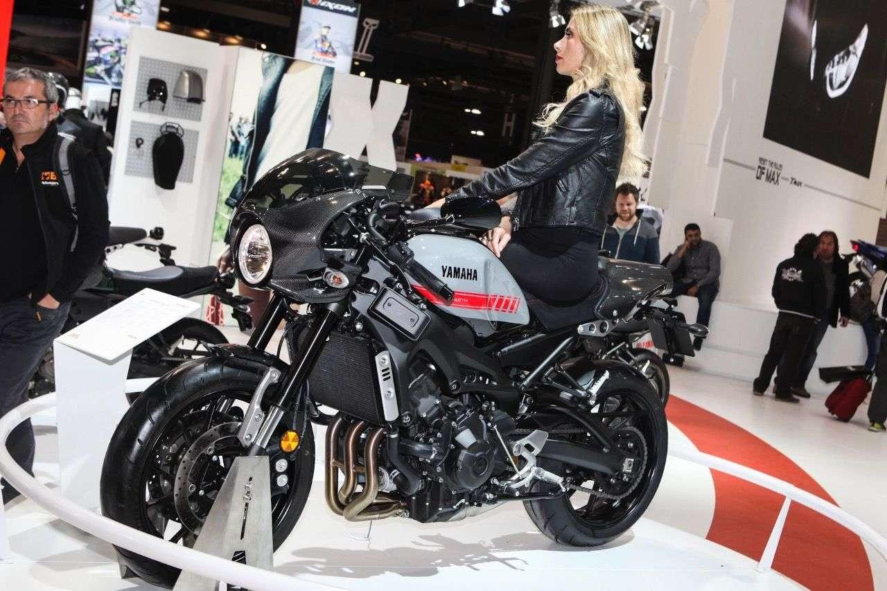 Yamaha XSR900 Abarth.